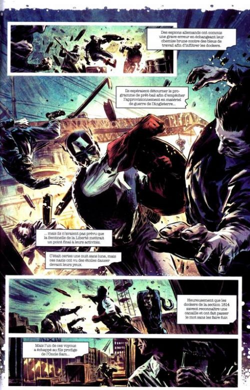 Avengers Extra T6 : Patriote (0), comics chez Panini Comics de Kesel, Immonem, Breitweiser, Perez, Breitweiser, Rauch, Bagley