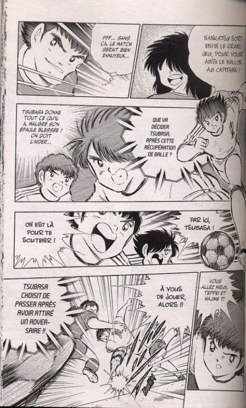 Captain Tsubasa T18, manga chez Glénat de Takahashi
