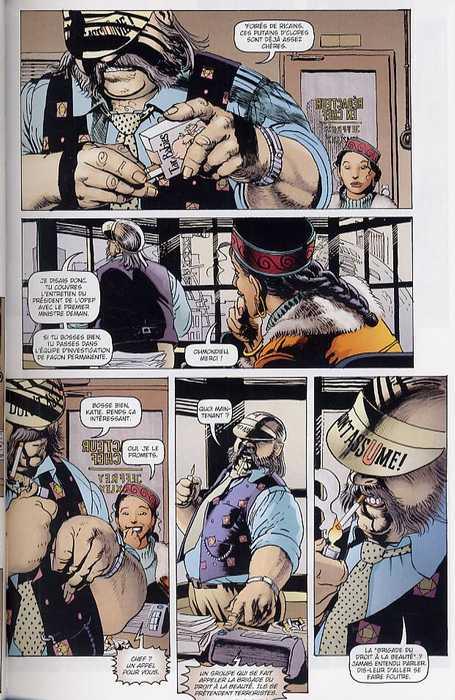 Smoke T1 : La main de Caïn (0), comics chez Delcourt de de Campi, Kordey, O'Grady