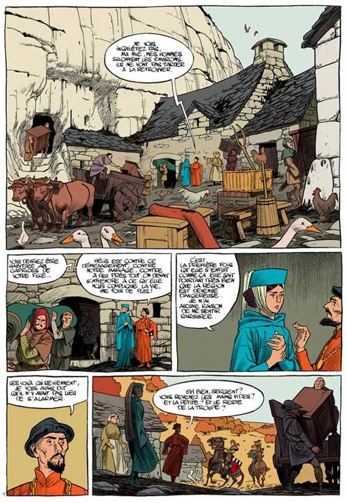 Messire Guillaume T1 : Les contrées lointaines (0), bd chez Dupuis de de Bonneval, Bonhomme, Walter