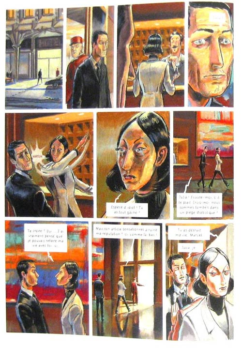 Mort d'un banquier T2 : La mort est gratuite (0), bd chez Emmanuel Proust Editions de Gnehm