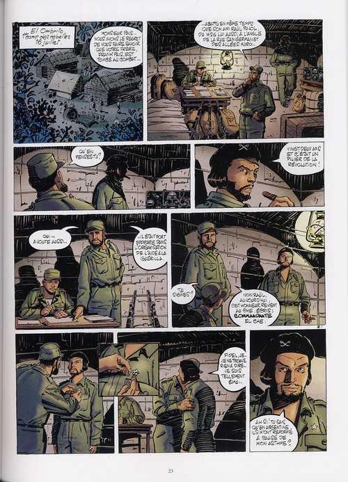 Rebelles T1 : Libertad - Che Guevara (0), bd chez Casterman de Charles, Charles, Wozniak