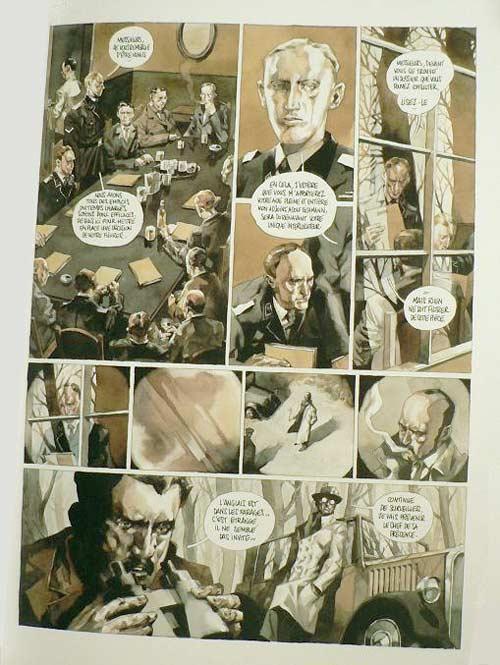 Sir Arthur Benton T2 : Wannsee, 1942 (0), bd chez Emmanuel Proust Editions de Tarek, Perger