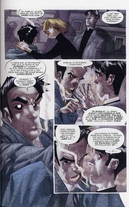 Révélations T2, comics chez Soleil de Jenkins, Ramos, Olea