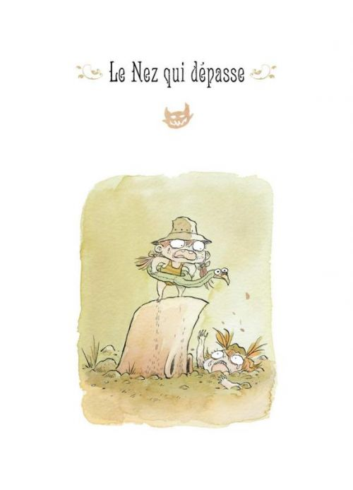 Billy Brouillard – cycle Comptines Malfaisantes, T2 : Les Comptines Malfaisantes (0), bd chez Soleil de Bianco