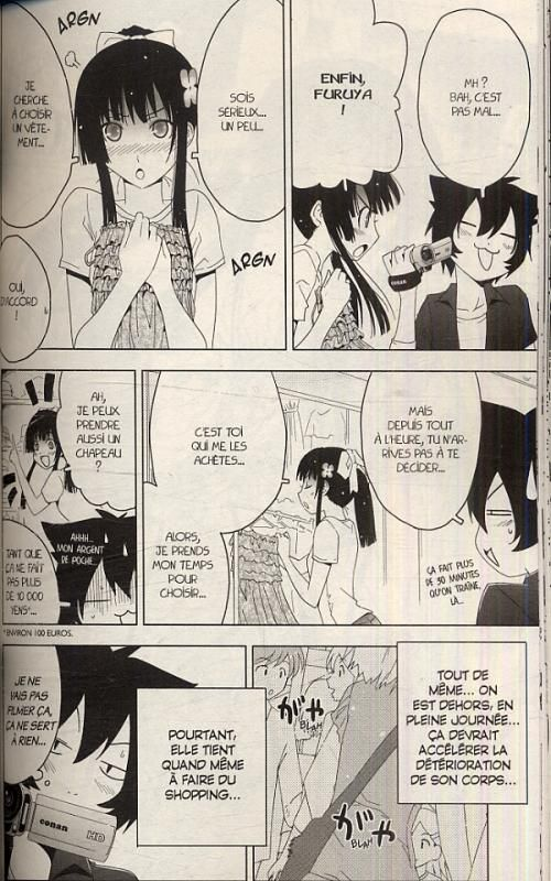 Sankarea - adorable zombie T2, manga chez Pika de Hattori