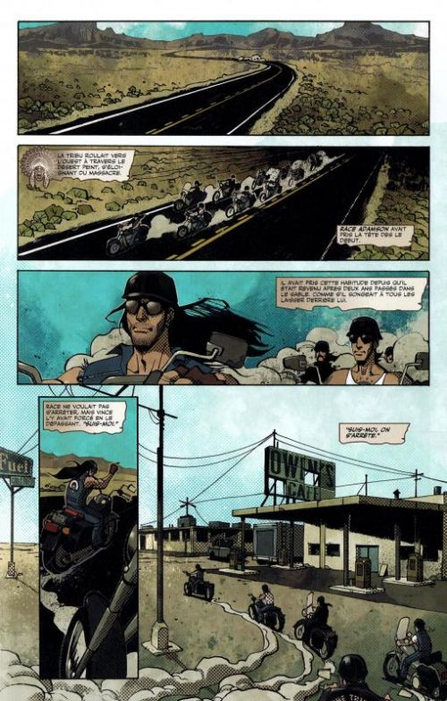 Road Rage, comics chez Panini Comics de Ryall, Joe Hill, King, Matheson, Garres, Daniel, Howard