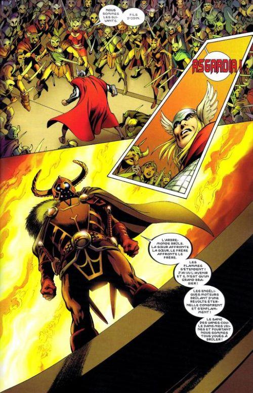 Thor – Revue V 2, T10 : Examen final (0), comics chez Panini Comics de Gage, Gillen, Fraction, Di Giandomenico, Di Vito, Norton, McKelvie, Grummet, Davis, Sotomayor, Aymara