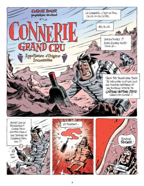 Cosmik Roger T7, bd chez Fluide Glacial de Mo/CDM, Julien/CDM