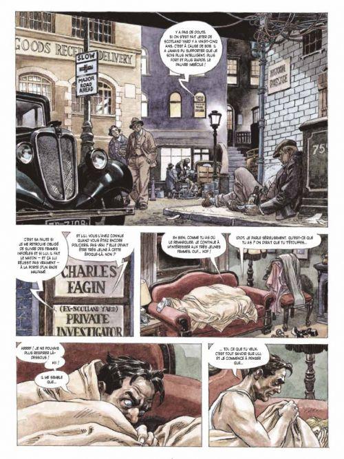 La Guerre des magiciens T2 : Londres (0), bd chez Delcourt de Trillo, Dal pra', Mandrafina