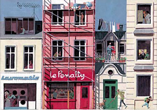 Fenêtres sur rue, bd chez Soleil de Rabaté