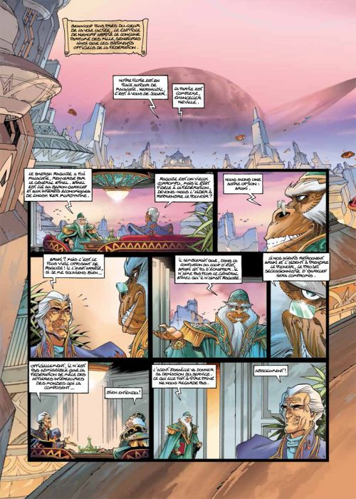 Les naufragés d'Ythaq T11 : L'haleine de l'ogre (0), bd chez Soleil de Arleston, Floch, Guth
