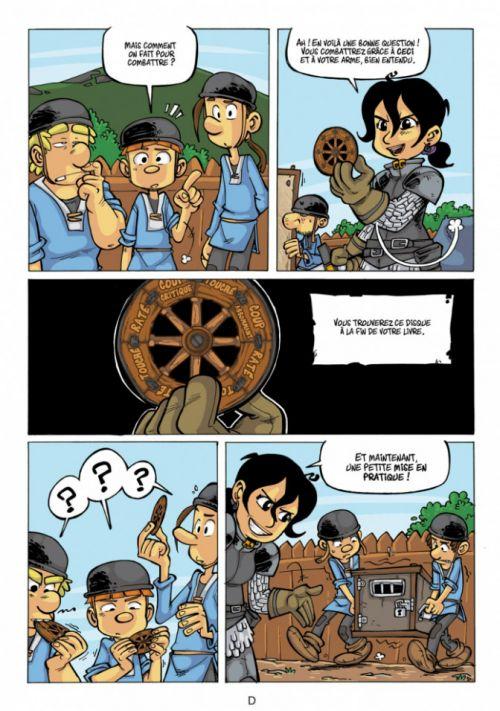 Chevaliers - La BD dont vous êtes le héros T2 : Livre 2 (0), bd chez Makaka éditions de Novy, Shuky, Waltch