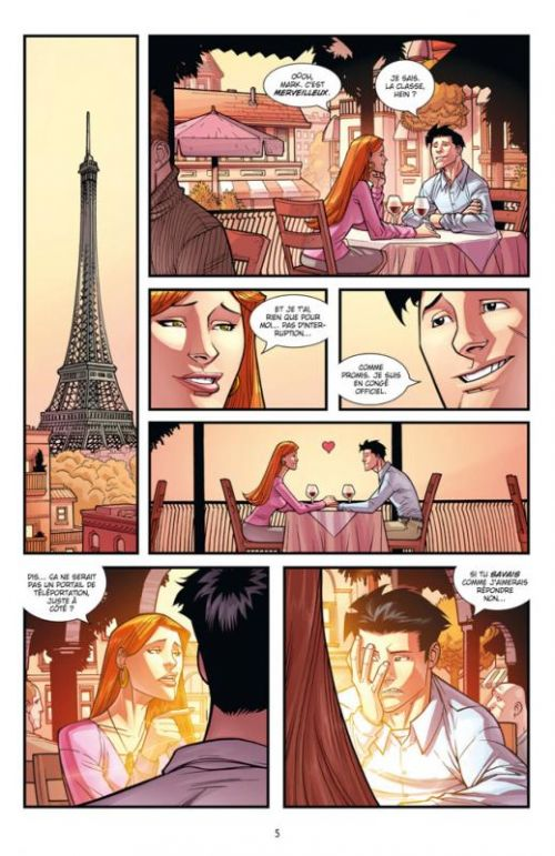 Invincible T10 : Happy days (0), comics chez Delcourt de Kirkman, Howard, Ottley, FCO Plascencia
