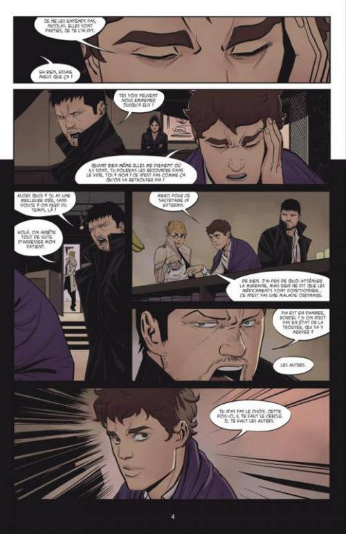 Le cercle T3 : Hybridation (0), comics chez Delcourt de Andoryss, Nesskain