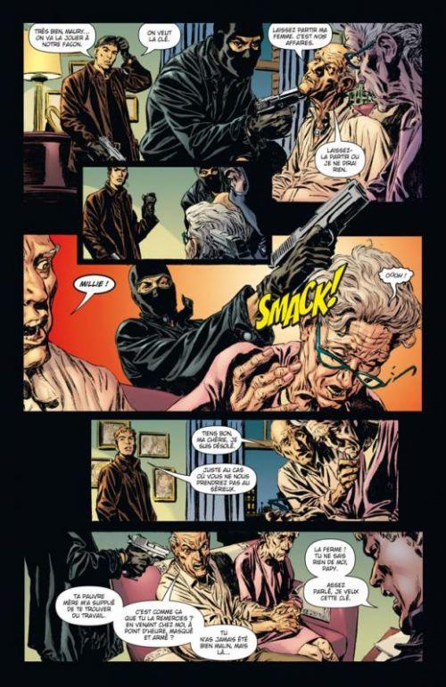 Monolith T1 : La voix dans le mur (0), comics chez Delcourt de Palmiotti, Gray, Winslade, Chuckry