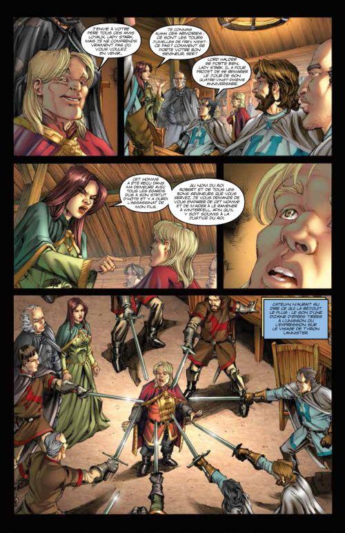 A Game of thrones T3, comics chez Dargaud de Abraham, Patterson, Nunes