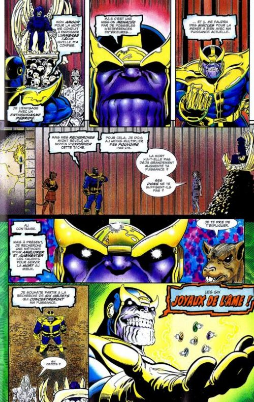 marvel universe v 2 t8 la qu te de thanos 0 comics chez panini comics de starlin. Black Bedroom Furniture Sets. Home Design Ideas