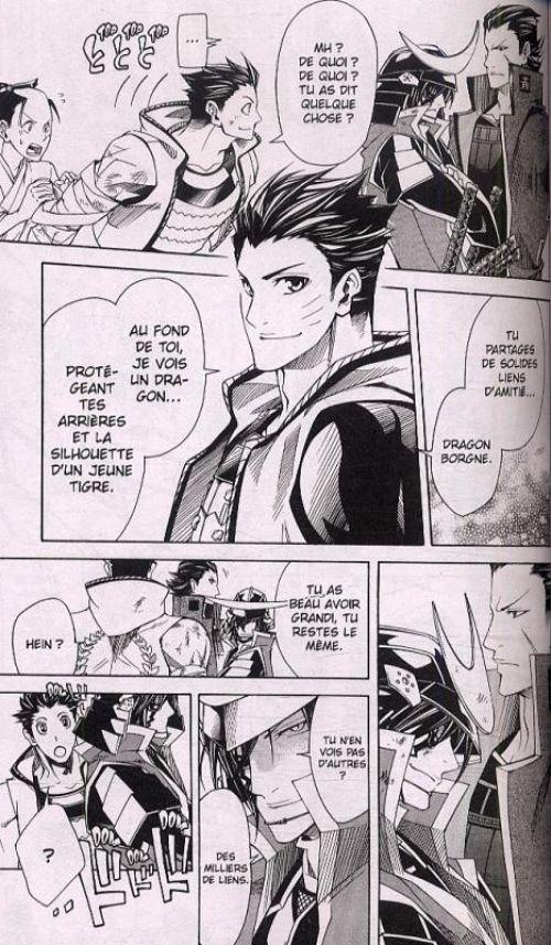 Sengoku Basara Samurai Heroes - Roar of dragon T3, manga chez Kazé manga de Ohga