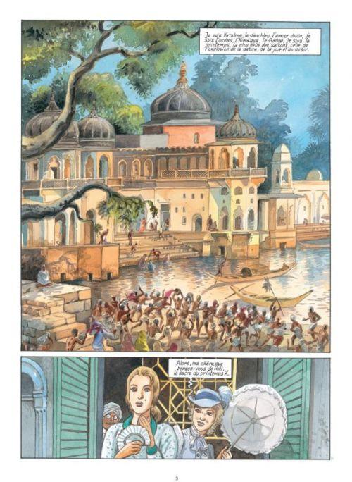 India Dreams – cycle 2, T8 : Le souffle de Kali (0), bd chez Casterman de Charles, Charles