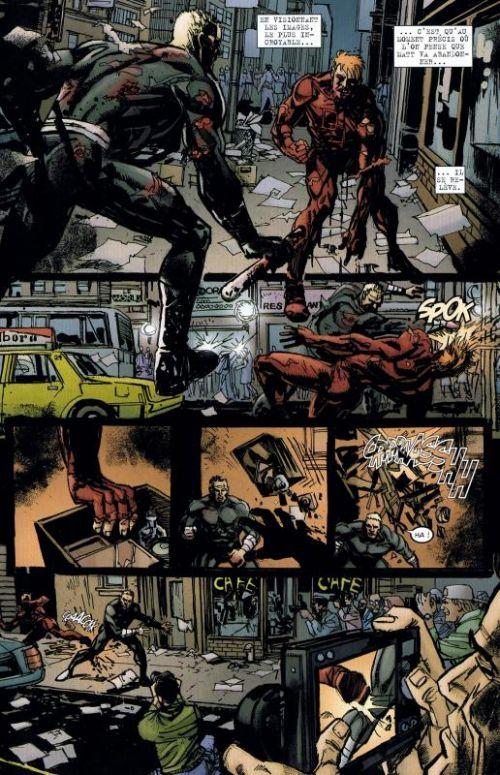 Daredevil - End of days T1, comics chez Panini Comics de Mack, Bendis, Maleev, Janson, Sienkiewicz, Hollingsworth