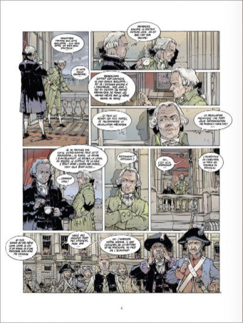 Black Crow raconte T2 : La Boussole et l'Astrolabe (0), bd chez Glénat de Delitte