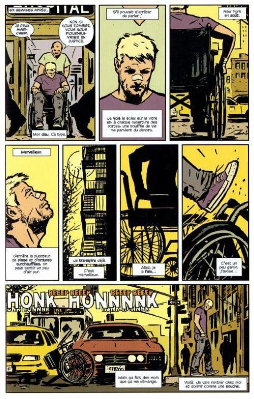 Hawkeye T1 : Ma vie est une arme (0), comics chez Panini Comics de Fraction, Aja, Pulido, Hollingsworth