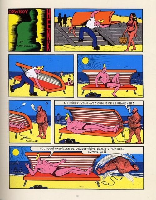 Cowboy Henk, bd chez Frémok de  , Seele