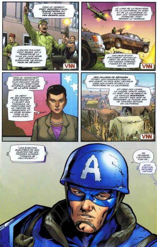 Ultimate Universe T8 : Unis, nous vaincrons (1/2) - United we stand (0), comics chez Panini Comics de Humphries, Wood, Bendis, Barbieri, Medina, Tan, Ross, Marquez, Larraz, Ponsor, Aburtov, Noor, Gracia, Milla, Mossa, Molina