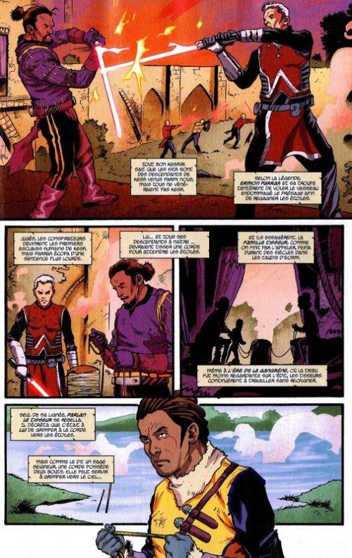 Star Wars (revue) – Comics Magazine, T4 : La tribu perdue des Sith (Conclusion) (0), comics chez Delcourt de Jackson Miller, Alden, Adams, Mutti, Trevino, Baldazzini, Atiyeh, Renaud, Velasco