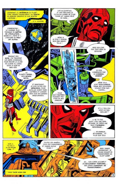 Marvel Classic – V 1, T11 : Et les hommes l'appelleront... Warlock ! (0), comics chez Panini Comics de Thomas, Kane, Adkins