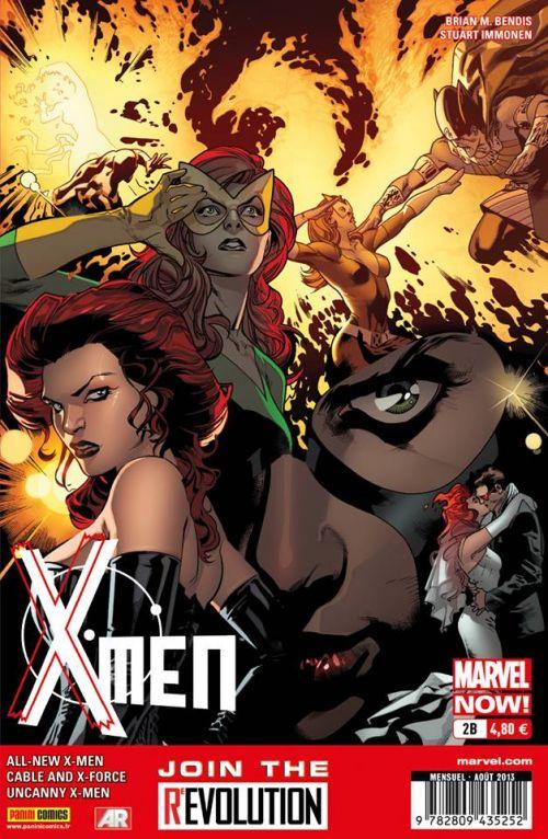 X-Men (revue) – V 4, T2 : X-Men d'hier (0), comics chez Panini Comics de Bendis, Hopeless, Larroca, Bachalo, Immonen, Gracia, d' Armata, Olazaba, Keith, Vey, Cheung