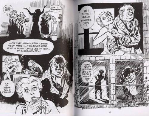 Un pacte avec Dieu, comics chez Delcourt de Eisner
