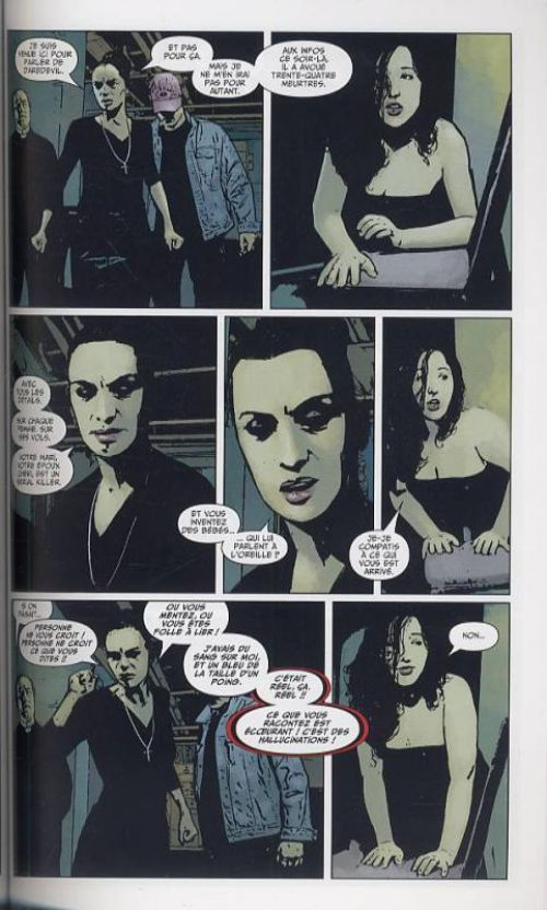 Daredevil - L'homme sans peur – 100% Marvel, T12 : Le décalogue (0), comics chez Panini Comics de Bendis, Maleev, Stewart