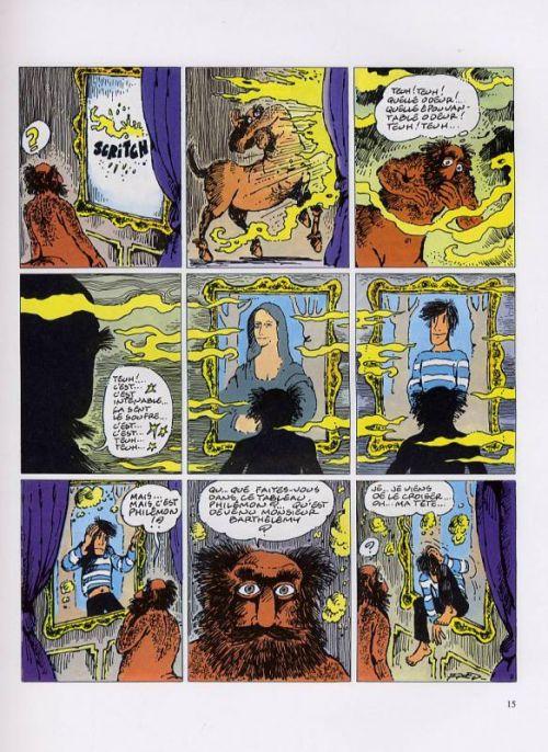 Philémon T15 : Le diable du peintre (0), bd chez Dargaud de Fred