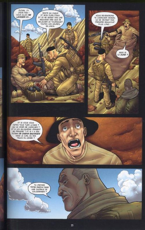 303 T1 : Afghanistan (0), comics chez Bamboo de Ennis, Burrows, Nimbus