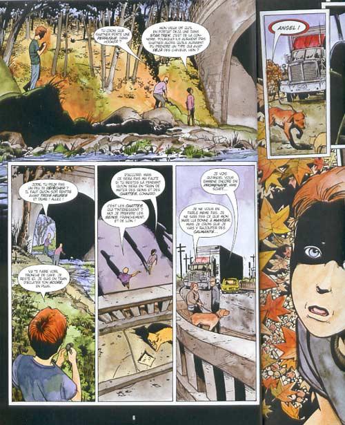 Chosen : L'élu (0), comics chez Bamboo de Millar, Gross, McGee