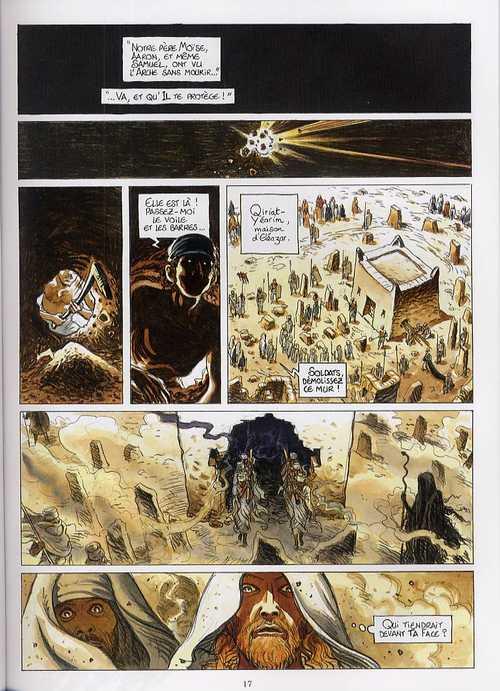 Le secret de l'arche T2 : David (0), bd chez Glénat de Frère Samuel, Bihel