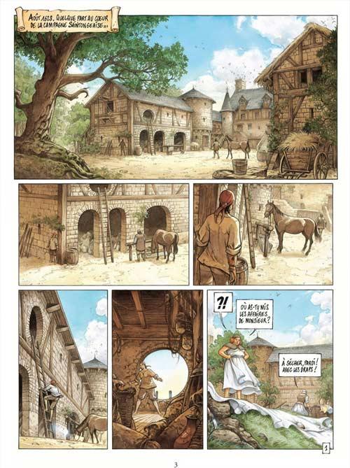 La conjuration d'Opale T2 : la loge (0), bd chez Dargaud de Hamm, Corbeyran, Grun