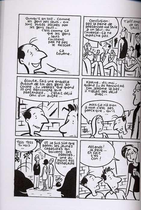 Monsieur Jean : La théorie des gens seuls (0), bd chez Les Humanoïdes Associés de Dupuy, Berberian