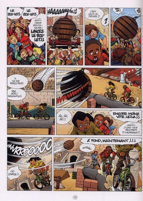 Seuls – cycle 2, T8 : Les Arènes (0), bd chez Dupuis de Vehlmann, Gazzotti, Usagi