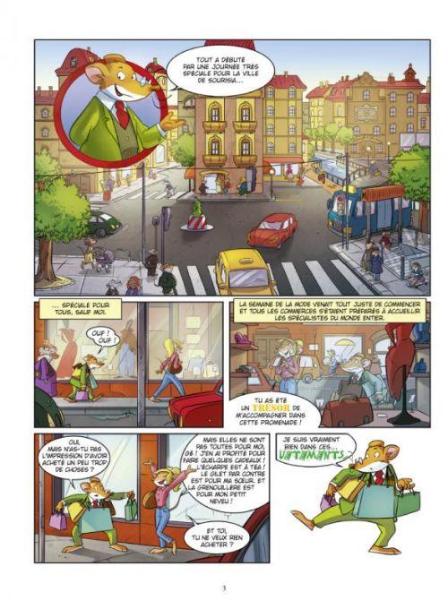 Géronimo Stilton T11 : Le mystère de la Tour Eiffel (0), bd chez Glénat de Stilton