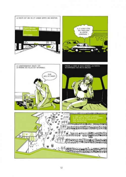 Derniers tests avant l'apocalypse, comics chez Delcourt de Kaczynski