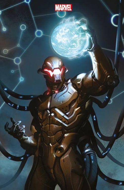 Age of Ultron T1, comics chez Panini Comics de Bendis, Hitch, Mounts, Djurdjevic