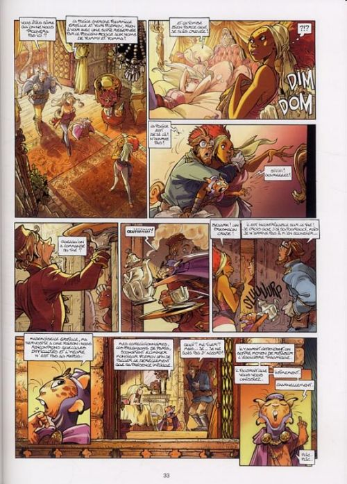 Ekhö T2 : Paris Empire (0), bd chez Soleil de Arleston, Barbucci, Lebreton