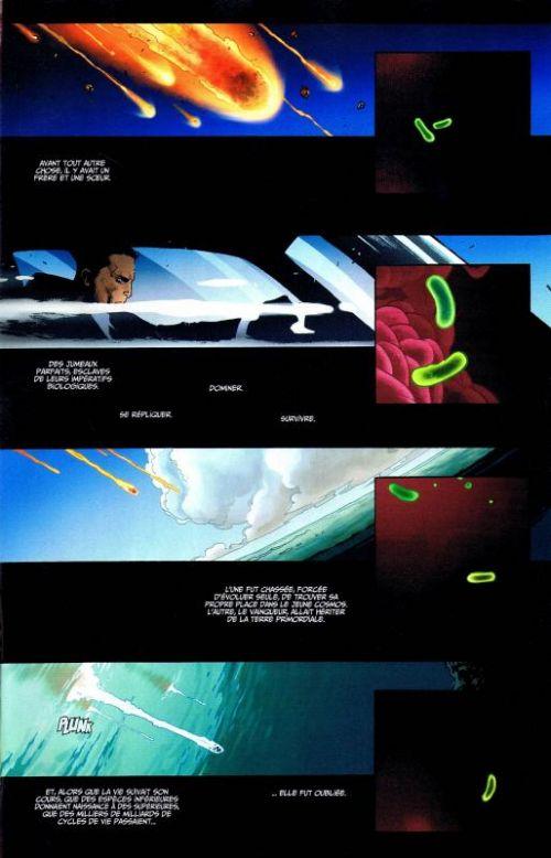 X-Men Universe – Revue V 3, T3 : Le dernier chant (0), comics chez Panini Comics de Liu, Humphries, Lapham, Wood, Coipel, De La Torre, Alphona, Hernandez Walta, Garney, Martin, Gonzales, Loughridge, Brown, Gracia, Peter