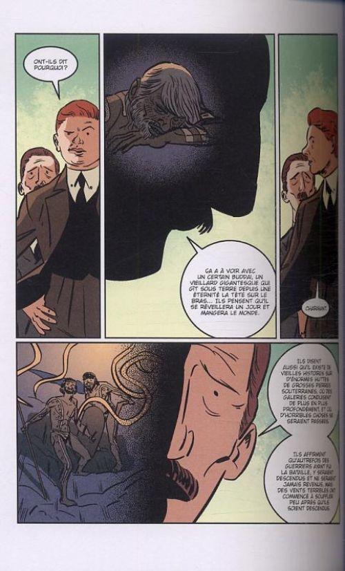 Dans l'abîme du temps, comics chez Akileos de Lovecraft, Culbard