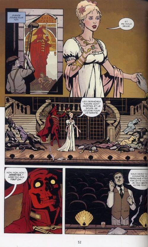 Lord Baltimore T3 : Un étranger de passage (0), comics chez Delcourt de Mignola, Golden, Stenbeck, Stewart