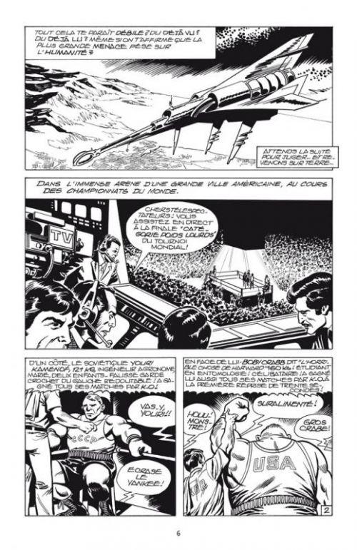 Mikros T1 : Les Titans microcosmiques (0), comics chez Delcourt de Mitton