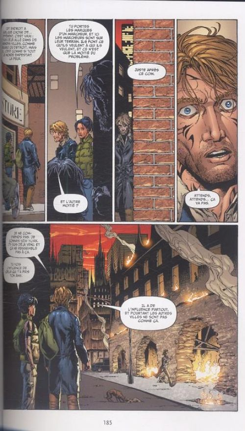 Midnight Nation, comics chez Delcourt de Straczynski, Frank, Milla